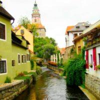 Чешский Крумлов - река