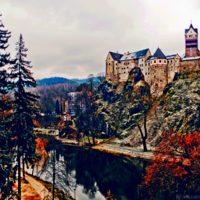 Вид на Локет Чехия