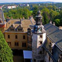 Крепость Фридлант - двор