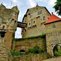 Пернштейн крепость