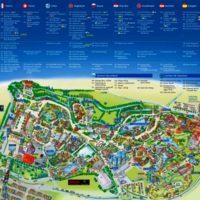 Европа Парк - Карта