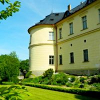Замок Збирог (Zbiroh) - сад
